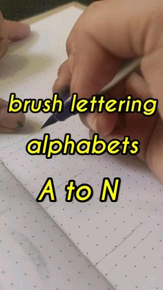 Calligraphy Lessons, Calligraphy Alphabet, Caligraphy, Brush Lettering, Hand Lettering, Lettering Ideas, Doodle Quotes, Doodle Art, Art Drawings For Kids