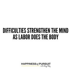 """Difficulties strengthen the mind as labor does the body - Seneca  #motivation #entrepreneur #hustle #stoicism #instadaily . If it were easy everyone would do if. . We often underestimate how much we are capable hence the saying """"you can do anything you set your mind too."""" . The challenge most people have is setting their mind to it. . There are countless success stories about people who went from rags to riches literally on the verge of or in bankruptcy and a few years later millionaires…"""