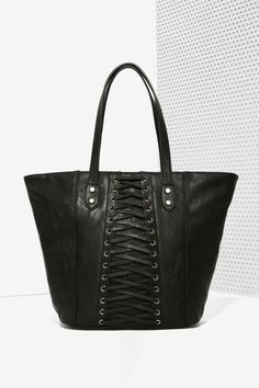 Nasty Gal x Nila Anthony Play it Cool Tote Bag