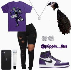 Baddie Outfits Casual, Cute Lazy Outfits, Swag Outfits For Girls, Teenage Girl Outfits, Cute Swag Outfits, Girls Fashion Clothes, Teen Fashion Outfits, Mode Outfits, Girly Outfits