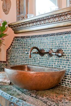 Prescott Interior Design Firm in Prescott, Arizona Spanish Style Bathrooms, Spanish Style Homes, Spanish Colonial, Mexican Style Homes, Mexican Style Decor, Spanish Revival, Spanish Interior, Mexican Interior Design, Deco Boheme Chic