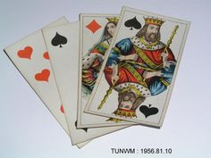 https://flic.kr/p/Agqhzh   Doll's house, playing cards about 1840   Playing cards from Rigg Doll's house, about 1840. On display at Tunbridge Wells Museum & Art Gallery.