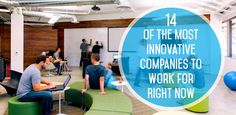 14 of the Most Innovative Companies to Work for Right Now | The Muse