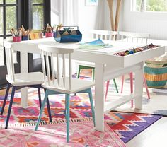 41 best kids tables chairs images kid table play table rh pinterest com Playroom Art Playroom Art Table