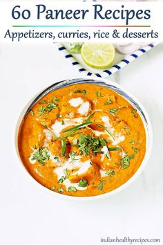 Paneer tikka masala is a popular dish of grilled paneer in spicy onion tomato gravy. Learn how to make resaturant style paneer tikka masala at home. Indian Paneer Recipes, Indian Food Recipes, Beef Recipes, Vegetarian Recipes, Cooking Recipes, Healthy Recipes, Indian Desserts, Recipes With Paneer, Vegetarian Masala