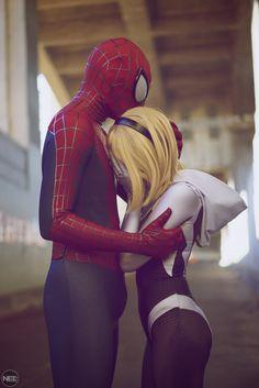 Spiderman and Gwen