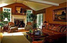 Warm Living Room Design
