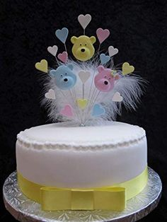 Feathers 18th Birthday Cake Topper Multicoloured 1 Metre Of Ribbon /& Bow