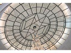 Dôme en verre imitation vitrail en Verre réalisé par Oustry S.M.T.D. | France Artisanat d'Art
