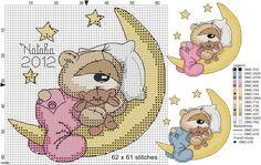Brilliant Cross Stitch Embroidery Tips Ideas. Mesmerizing Cross Stitch Embroidery Tips Ideas. Baby Cross Stitch Patterns, Cross Stitch For Kids, Cross Stitch Baby, Cross Stitch Animals, Hand Embroidery Patterns, Cross Stitch Charts, Cross Stitch Designs, Cross Stitching, Cross Stitch Embroidery