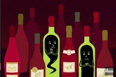 Tous les goûts sont dans la nature. Pour certains, les rouges très chargés en alcool ou sucrés sont mauvais. Pour d'autres, les vins acides en bouche sont désagréables.