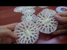 Mini coeur au crochet pour débutant / Crochet an easy tiny heart - Vest Crochet Crochet Zig Zag, Stitch Crochet, Crochet Cord, Boho Crochet, Needle Tatting Tutorial, Crochet Tutorial, Fabric Yarn, Fabric Crafts, Silk Ribbon Embroidery