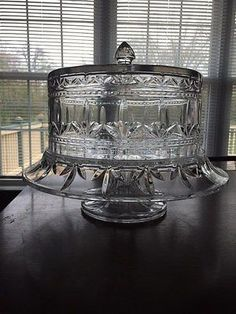 Image result for vintage waterford cake stand & Waterford u0027Lismoreu0027 Lead Crystal Cake Plate | Cake Stands/Glass ...