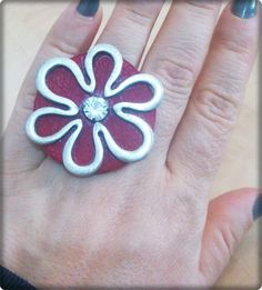Facebook, Ring, Leather, Accessories, Rings, Jewelry Rings, Quarter Ring, Ornament