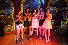 Fifth Harmony <<<<< They are the nicest girls ever. I cried when I met them