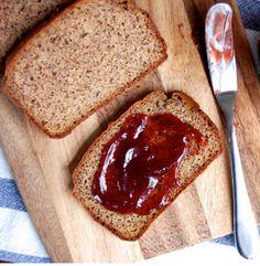Pão de sanduíche, c farinha de coco e linhaça