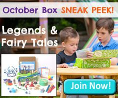 GREEN KID CRAFTS -- October Box SNEAK PEEK - Hands-on Fun and Learning from just $16.95 a month