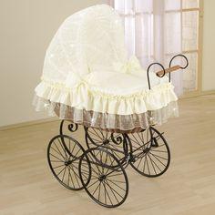 Antique crib - so elegant...!