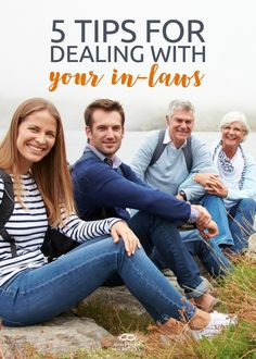 Great advice for married couples! 5 Tips for Dealing With Your In-Laws http://newlywedsurvival.com/5-tips-dealing-laws/