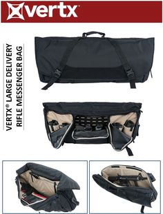 b8a2f87ebcdc THE VERTX® DELIVERY RIFLE MESSENGER BAG PROVIDES LOW PROFILE RIFLE  CONCEALMENT IN AN URBAN-INSPIRED