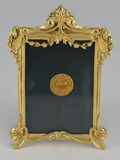 645fc209ad8 Brand New Elias Artmetal Gold Plated Victorian Picture Frame Style 1655G