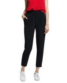 Our Silk Ankle Pants are cut slim and cropped perfectly at the ankle. They look great with flats and a tee, or pair with heels and a silk top in a matching colour for a head-turning jumpsuit look.