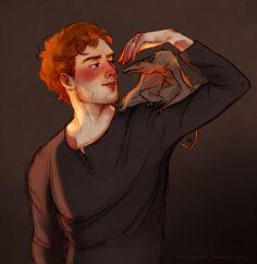 Charlie Weasley  by Natello's Art