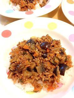 野菜いーっぱい食べられますo(^▽^)o - 11件のもぐもぐ - 野菜たっぷりドライカレー by maunten