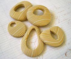 Rebecca Geoffrey, polymer clay.