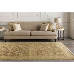 Hand-knotted Tinmouth Rug