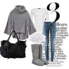 grey casual