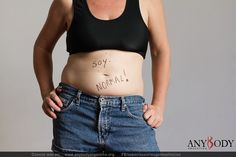 I'm normal. Positive Body Image, Crop Tops, Tank Tops, Camisole Top, Women, Fashion, Argentina, Moda, Halter Tops