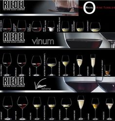 wine glasses? only RIEDEL!