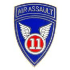 """U.S. Army 11th Airborne Division Pin 7/8"""" by FindingKing. $8.99. This is a new U.S. Army 11th Airborne Division Pin 7/8"""""""
