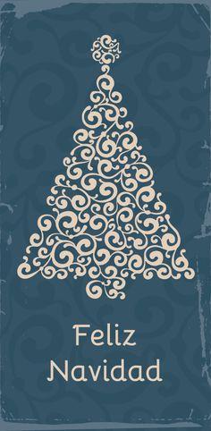 Feliz navidad para imprimir gratis