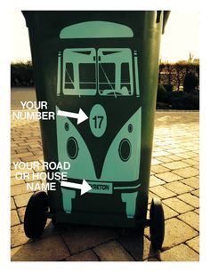 Electronics, Cars, Fashion, Collectibles, Coupons and Wheelie Bin Lock, Wheelie Bin Stickers, Kombi Trailer, Painted Trash Cans, Vinyl Doors, Trash Bins, Dream Decor, Campervan, Funny Stickers