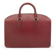 A stunningly simple, modern Burgundy leather briefcase, the Henley is a slim and lightweight, with a top zip closure made from premium bridle leather