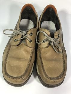 Mens Sperry Top-Sider Upper Leather. 2-Eye- Tan beige Shoes. Size 13M   fashion  clothing  shoes  accessories  mensshoes  casualshoes (ebay link) 7937ebd6a