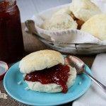 No Cutter buttermilk biscuits. This recipe is from 'Southern Bite'.