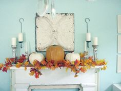12 Fabulous Fall mantles   The New Home Ec
