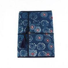 ethnic indian fabric folder.