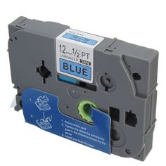 Black On Blue Label Tape For Brother TZ531 Tabbed Ribbon P-Touch 12mm