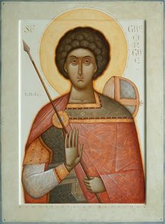 Author, Gabriel Toma Chituc St George the Great Religious Images, Religious Icons, Religious Art, Byzantine Icons, Byzantine Art, Archangel Gabriel, Best Icons, Art Icon, Orthodox Icons