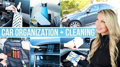 cool Car Organization and Cleaning Hacks! - YouTube...  My car Check more at http://autoboard.pro/2017/2017/03/14/car-organization-and-cleaning-hacks-youtube-my-car/