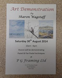 Sharon Wagstaff visit at the end of the month (Aug 2014)