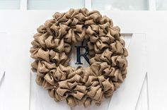 Simply Southern Girl burlap wreath