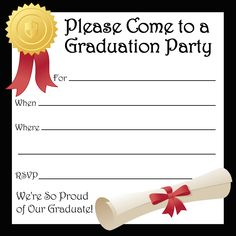 Free Printable Graduation Party Templates Printable Graduation - Free graduation announcements templates