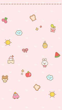 Fwee! *^>^* Sanrio Wallpaper, Pretty Phone Wallpaper, Cover Wallpaper, Couple Wallpaper, Kawaii Wallpaper, Pink Wallpaper, Pattern Wallpaper, Iphone Wallpaper, Kawaii Doodles