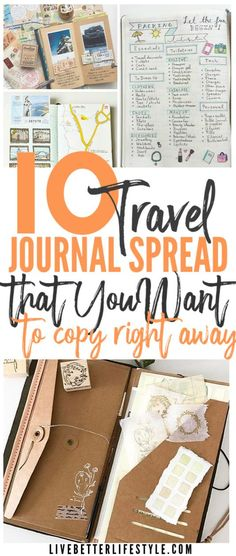 Looking for inspiration on how to DIY your own travel journal? Check out these travel journal spread that you want to copy right away! journal 10 DIY Travel Journal Ideas to Keep Your Travelling Memories Best Travel Journals, Travel Maps, New Travel, Travel Usa, Travel Destinations, Beach Travel, Paris Travel, Travel Packing, Japan Travel