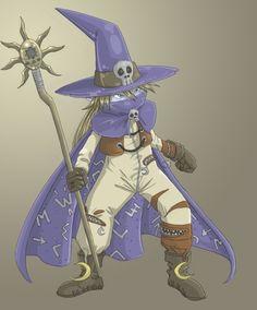 :Wizardmon: by Leen-galeas.deviantart.com on @deviantART